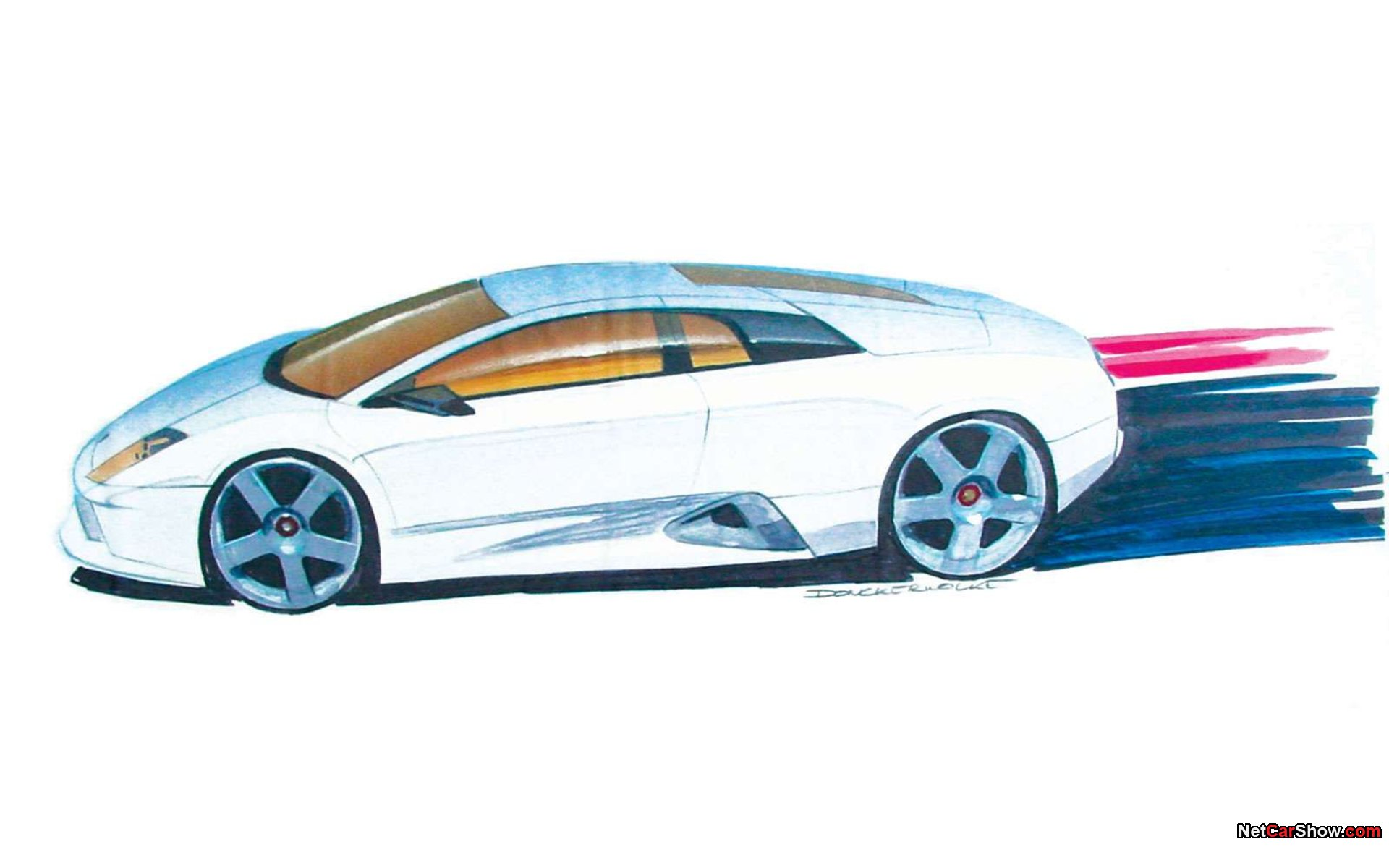 Lamborghini Murcielago Sketch 007 Lamborghini